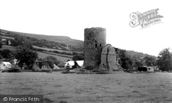 Crickhowell, Tretower Castle c.1965