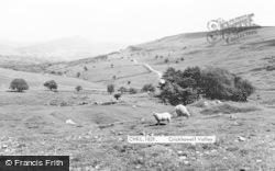 Crickhowell, Valley c.1965