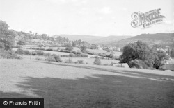 Crickhowell, View From Preggy Lane 1939