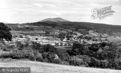 Crickhowell, View From The Dardy c.1955