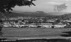 Crickhowell, View Showing Modern School c.1960