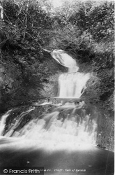 Crieff, Falls Of Barvick 1899