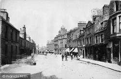 Crieff, High Street 1899