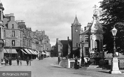 Crieff, The Fountain, James Square 1899