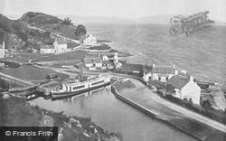 Crinan, Western Terminal Of The Canal And The Sound Of Jura c.1895