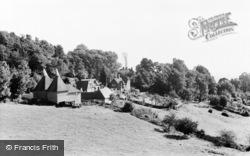 Crockham Hill, Froghole Farm c.1955