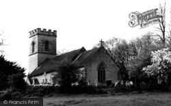 Crockham Hill, Holy Trinity Church c.1960
