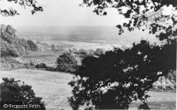 Crockham Hill, View From Hill Looking South East c.1960