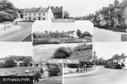 Croft-on-Tees, Composite c.1955