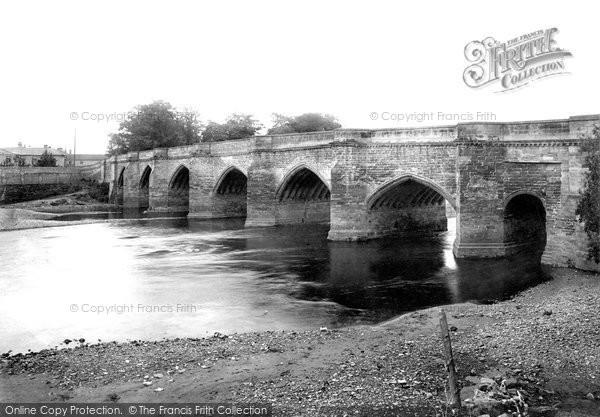 Photo of Darlington, Croft Bridge 1892, ref. 30652