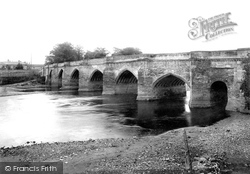 Croft-on-Tees, Croft Bridge 1892