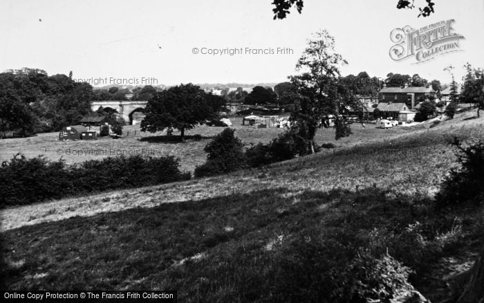 Photo of Croft On Tees, General View c.1955
