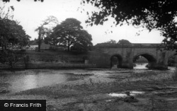 Croft-on-Tees, The Bridge c.1955