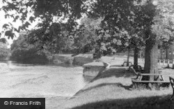 Croft-on-Tees, The River c.1955