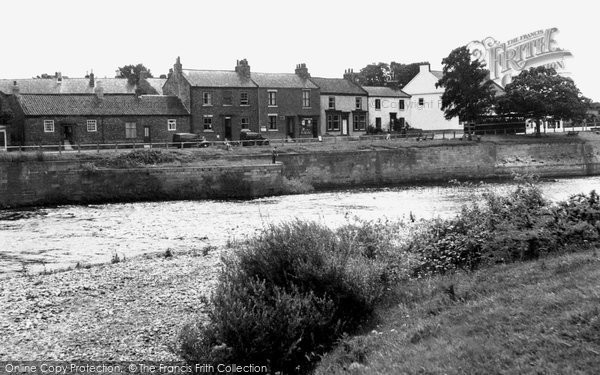 Photo of Croft On Tees, View Over The River c.1955