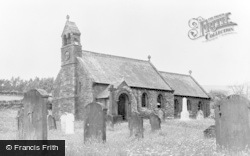 Croglin, Church Of St John The Baptist c.1955