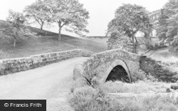 Croglin, The Bridge c.1955