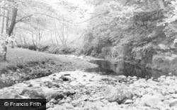 Croglin, The River c.1955