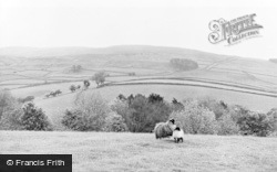 Croglin, View Of The Fells c.1955