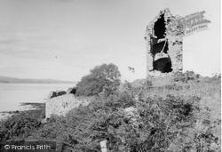 Cromarty, Castle Craig 1952