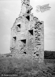 Cromarty, Kinbeachie Castle 1952