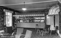 Colne House Hotel, The Garden Bar c.1960, Cromer