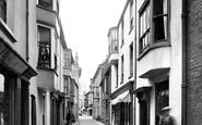 Cromer, Jetty Street 1925