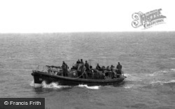 Lifeboat, Henry Blogg c.1948, Cromer