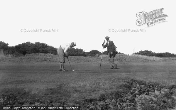 Cromer, Playing Golf 1933