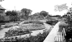 The Gardens, North Lodge Park c.1960, Cromer