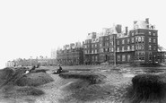 Cromer, the Grand Hotel from the West 1899