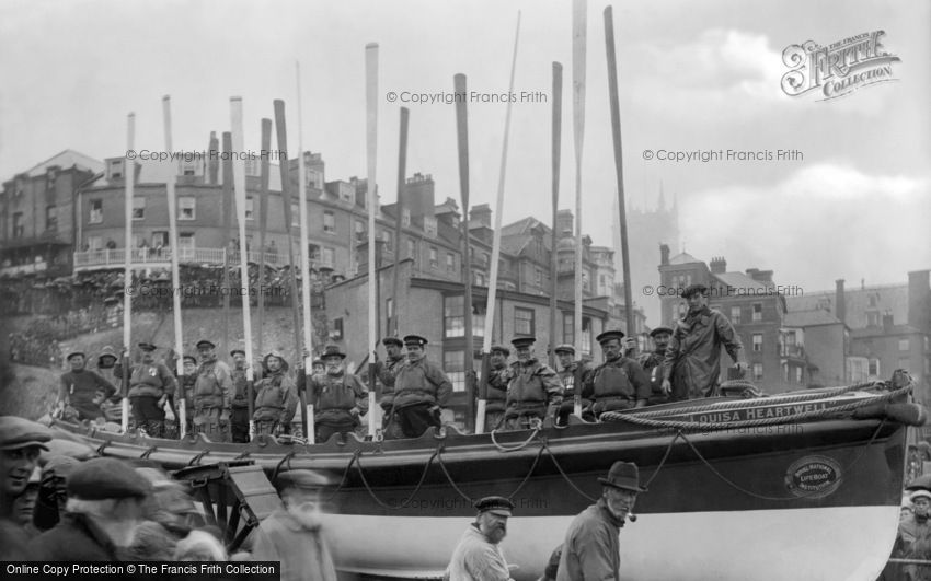 Cromer, the Lifeboat 1922
