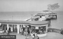 Cromer, the Pier c1960