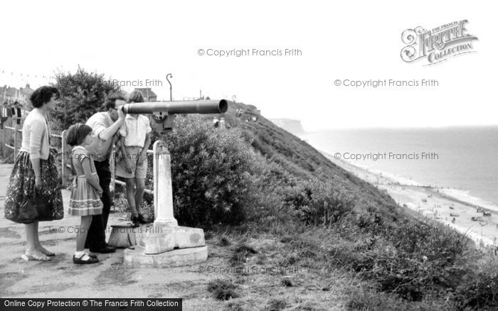 Photo of Cromer, The Telescope c.1955