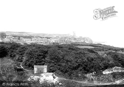 View From Lighthouse Hill 1894, Cromer