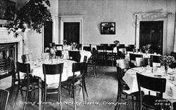 Willersley Castle, Dining Room c.1955, Cromford