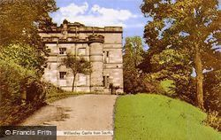 Willersley Castle From South c.1955, Cromford