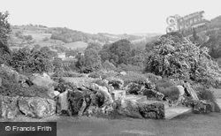 Willersley Castle Valley From Entrance c.1955, Cromford