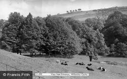 Willersley Castle View From Entrance c.1955, Cromford