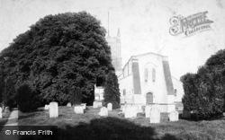 Crondall, All Saints Church 1906