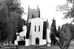 Crondall, All Saints Church c.1950