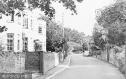 Crondall, Church Street c.1955