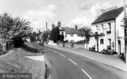 Crondall, Dippenhall Street c.1960