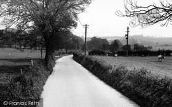 Crondall, Heath Lane c.1955