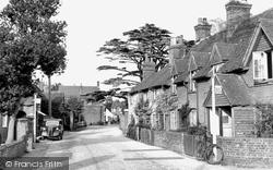 Crondall, The Borough 1952