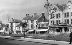 Market Square Shops c.1955, Crook