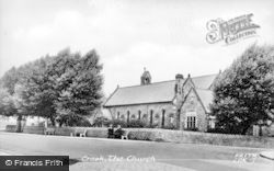 St Catherine's Church c.1955, Crook