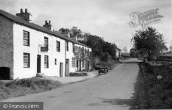 Crook, Sun Inn And Post Office c.1955