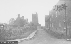 Church Lane c.1955, Cropredy