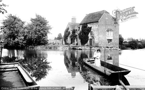Cropthorne,Mill 1910,Hereford and Worcester